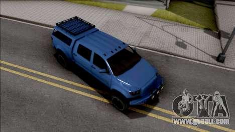 GTA V Vapid Contender for GTA San Andreas