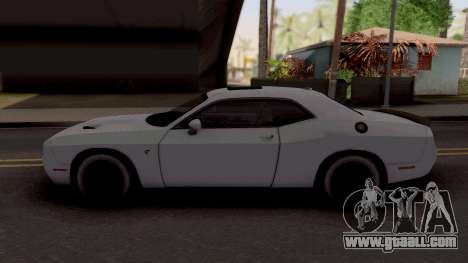 Dodge Challenger Hellcact Lowpoly for GTA San Andreas