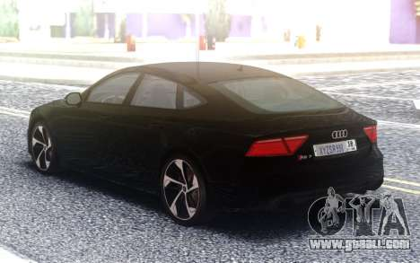 Audi RS7 Restyling for GTA San Andreas