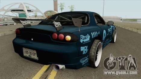 Mazda RX-7 FD3S (R3ACT Team Sessions) for GTA San Andreas