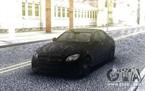 Mercedes-Benz W213 E63s BRABUS for GTA San Andreas
