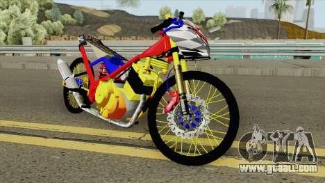 Satria FU Drag New for GTA San Andreas