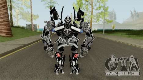 Transformers Barricade High 2007 for GTA San Andreas