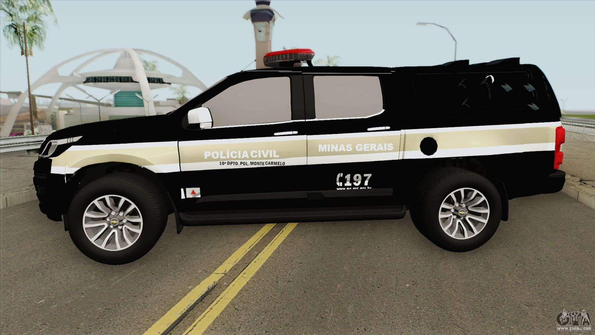 Chevrolet S-10 Policia Civil For GTA San Andreas