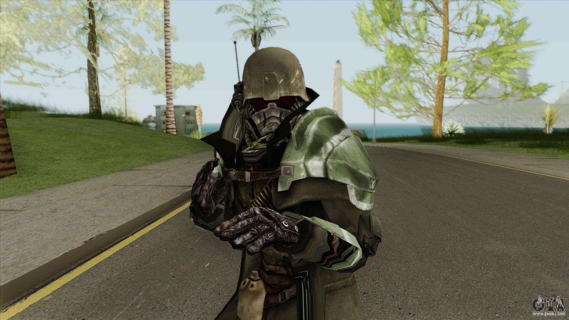 Riot Power Armor (Fallout) V1 for GTA San Andreas