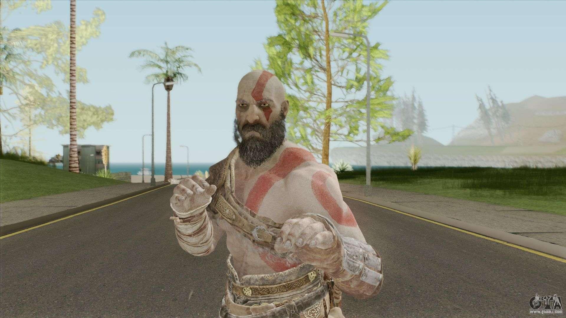 Kratos God Of War 2018 For GTA San Andreas