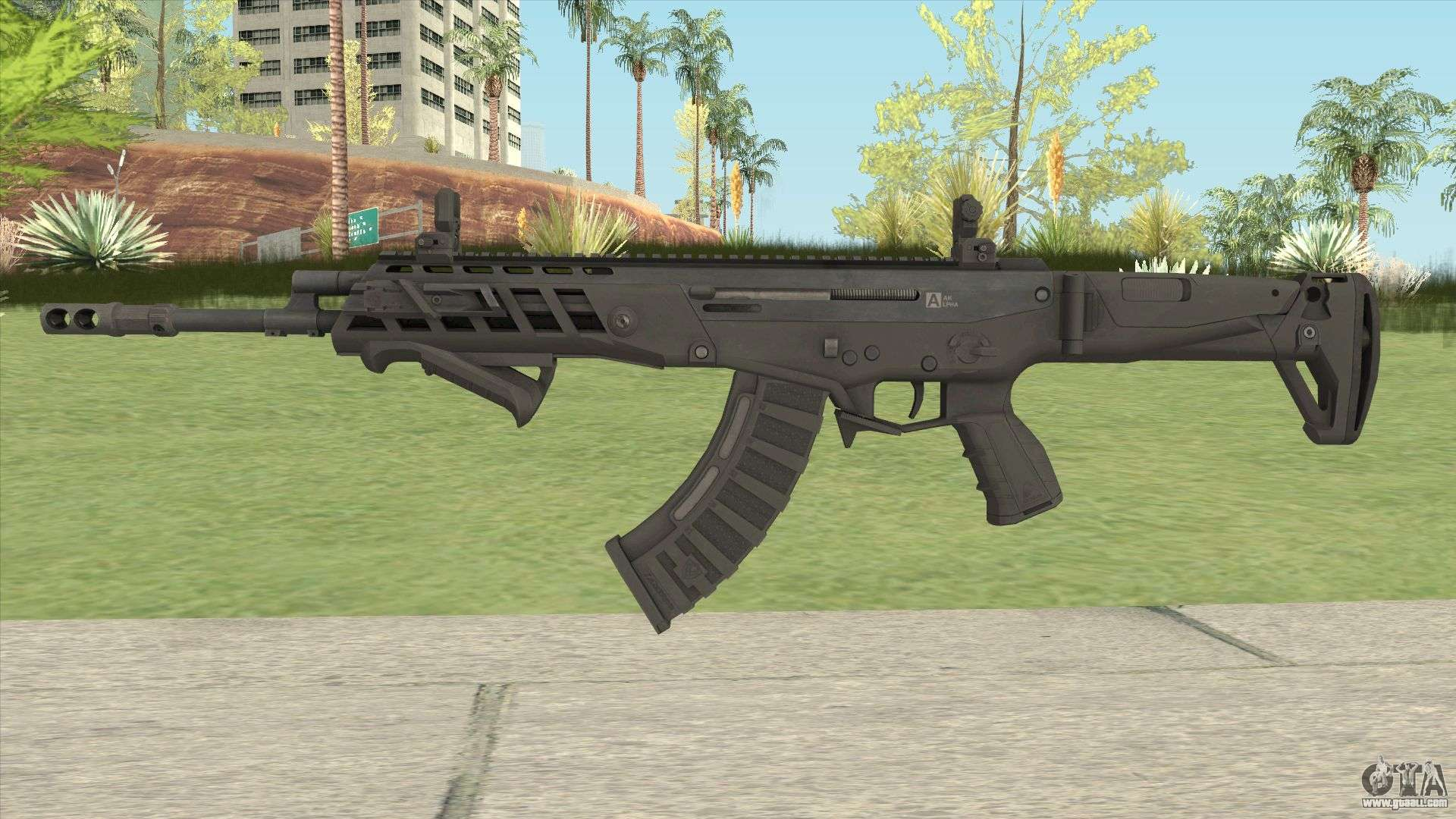 Warface AK-Alfa Default (With Grip) for GTA San Andreas