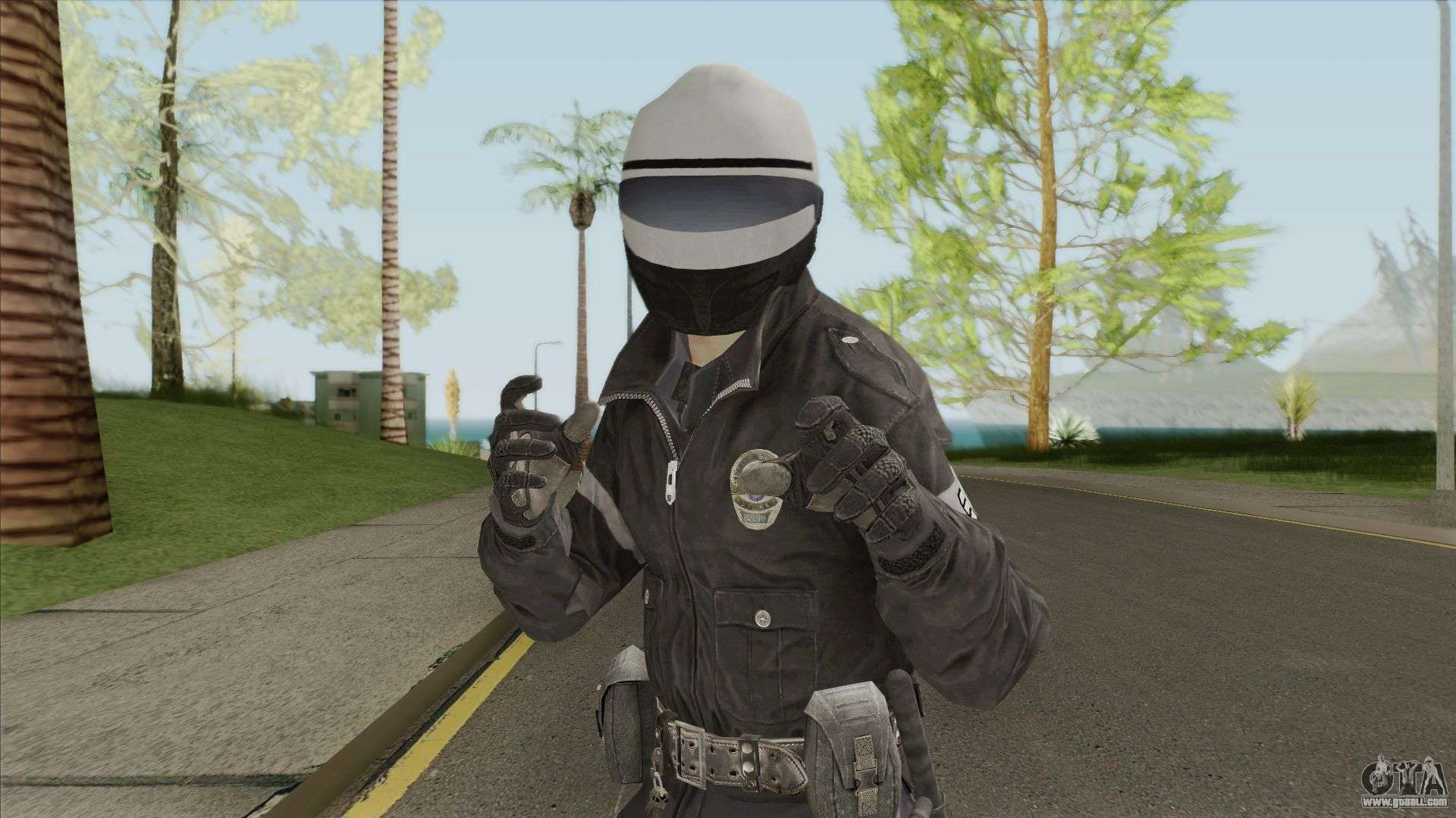 Motocop (Call of Duty: Black Ops 2) for GTA San Andreas