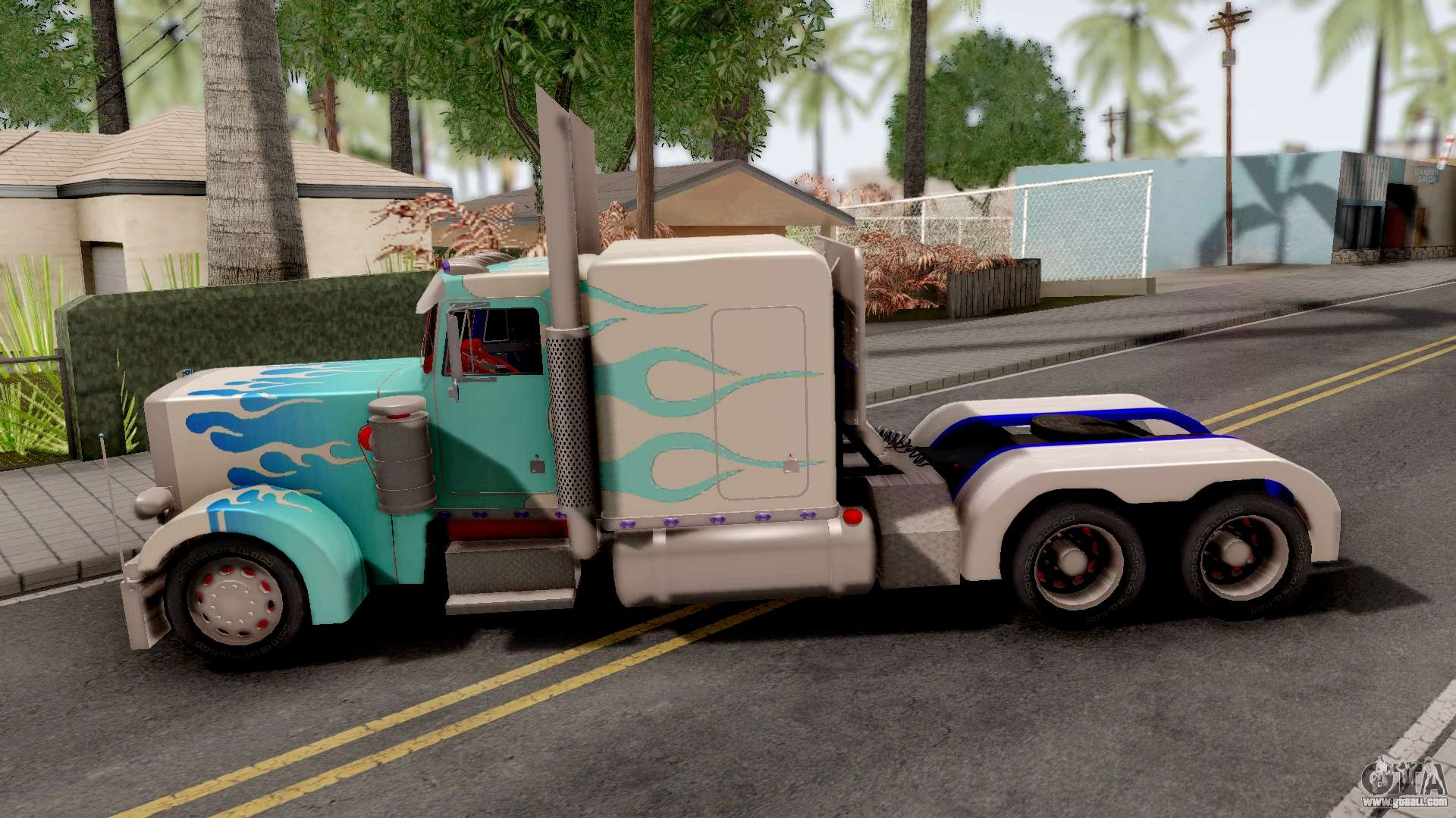 Transformers Ultra Magnus v3 for GTA San Andreas