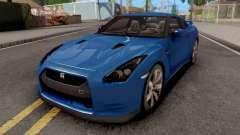 Nissan GT-R R35 Blue for GTA San Andreas