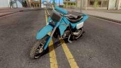 Sanchez to Mountain Bike for GTA San Andreas