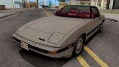Mazda RX-7 GSL-SE (USDM) 1985 HQLM for GTA San Andreas