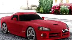 Dodge Viper  Red SRT-10 for GTA San Andreas
