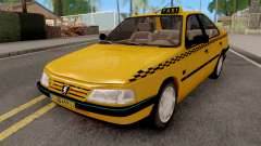 Peugeot 405 GLX Taxi for GTA San Andreas