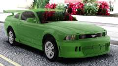 Ford Mustang GT Green for GTA San Andreas