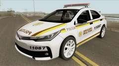 Toyota Corolla 2017 Brigada Militar for GTA San Andreas