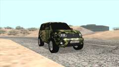 UAZ Patriot Camo for GTA San Andreas