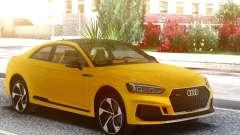 Audi RS5 Yellow for GTA San Andreas