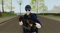 Costa Rica Police Skin (Fuerza Publica) for GTA San Andreas