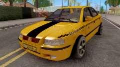 Ikco Samand Taxi LX for GTA San Andreas