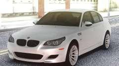 BMW M5 E60 Sedan White for GTA San Andreas