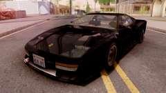 Ferrari Testarossa Custom Black for GTA San Andreas