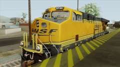 GE ES44AC Freight BNSF (Update) for GTA San Andreas