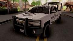 Chevrolet Cheyenne 2016 Guardia Nacional for GTA San Andreas