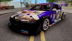 Nissan Silvia S15 Uras D1GP with Mika Girl v2 for GTA San Andreas