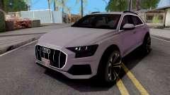 Audi Q8 2019 Grey for GTA San Andreas