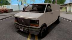 GTA V Declasse Burrito White for GTA San Andreas
