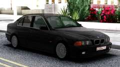 BMW 540i E39 Black for GTA San Andreas