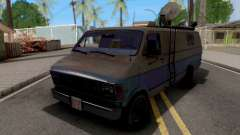 Dodge Ram Van 1989 San News for GTA San Andreas