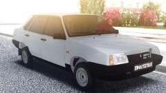 VAZ 21099 White Sedan for GTA San Andreas