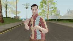 GTA Online Random Skin 29 (IAA Agent Summerwear) for GTA San Andreas