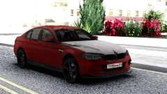 BMW M5 F90 Red-Black for GTA San Andreas