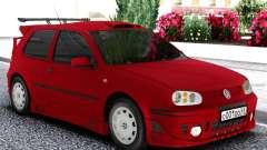 Volkswagen Golf Mk4 1999 Red for GTA San Andreas
