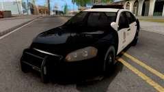 Chevrolet Impala 2007 LSPD Lowpoly for GTA San Andreas