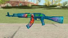 Warface AK-103 (Evil Santa) for GTA San Andreas