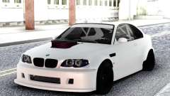 BMW M3 E92 DRIFT White for GTA San Andreas
