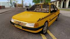 Peugeot 405 GLX Taxi v2 for GTA San Andreas