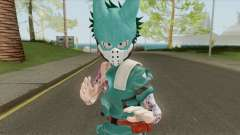 Izuku Midoriya (Neo Traditional Pastel Tatto) for GTA San Andreas