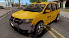 Dodge Grand Caravan Taxi for GTA San Andreas