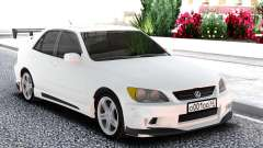 Lexus IS300 White Sedan for GTA San Andreas