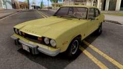Mercury Capri 2600 1973 IVF for GTA San Andreas