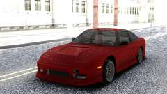 Nissan 240SX Red Coupe for GTA San Andreas
