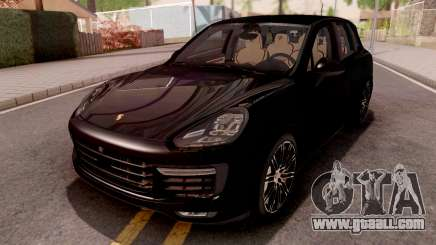 Porsche Cayenne Turbo S Black for GTA San Andreas