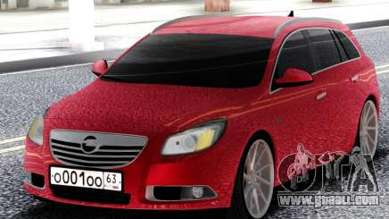 Opel Red Insignia for GTA San Andreas