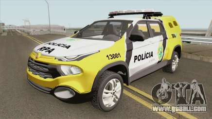 Fiat Toro (Policia Militar) for GTA San Andreas