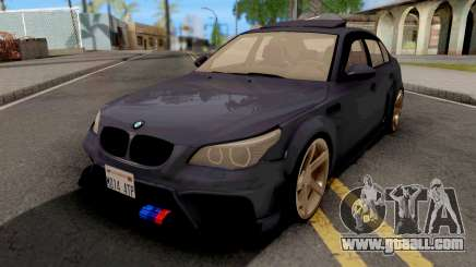 BMW M5 E60 Violet for GTA San Andreas
